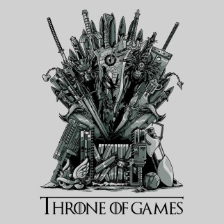 "T-Shirt ""Throne of Games"""