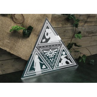 Miroir Legend of Zelda Tri-Force
