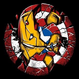 "T-Shirt ""Bouclier VS Armure"""