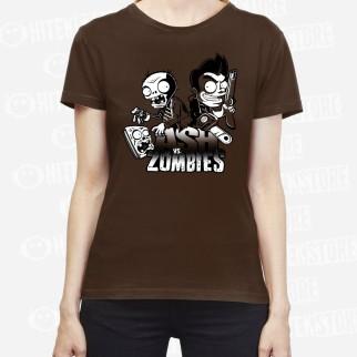 "T-Shirt ""Ash vs Zombies"""
