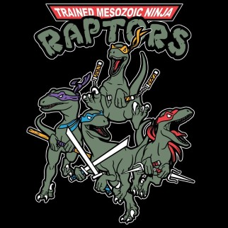 "T-Shirt ""Raptors Ninja"""