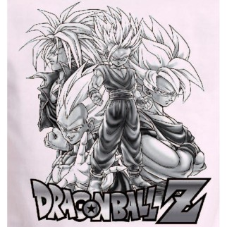 "T-Shirt Dragon Ball Z ""Team"""
