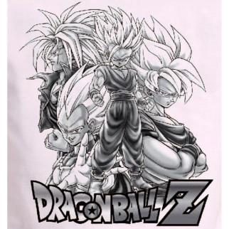 "T-Shirt Dragon Ball Z ""Team"""