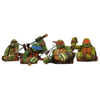 Kit de 4 figurines Tortues Ninja