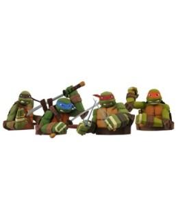 Kit de 4 figurines Tortues Ninja