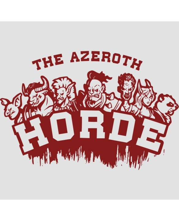 """T-Shirt """"For the Horde"""""""