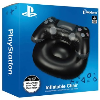 Fauteuil gonflable manette PS4