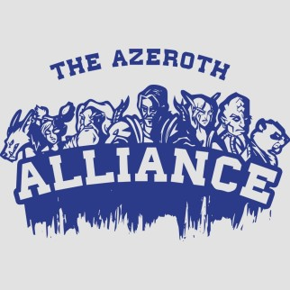 "T-Shirt ""For the Alliance"""