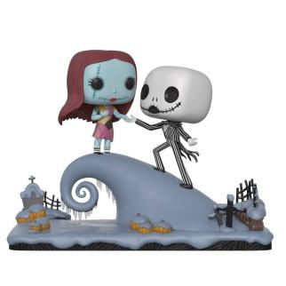 Figurine Funko Pop XL Jack et Sally sur la colline - L'Étrange Noël de Monsieur Jack N°458