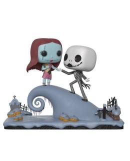 """Figurine Pop L'Étrange Noël de Monsieur Jack """"Jack et Sally sur la colline"""""""