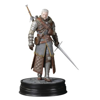 "Figurine The Witcher 3 ""Geralt armure école de l'Ours de Grand Maître"""