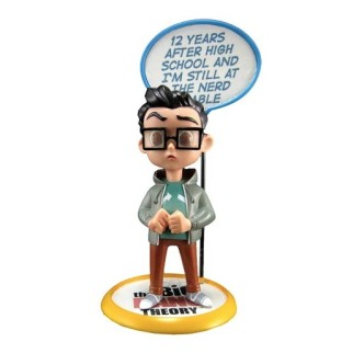 "Figurine Q-pop The Big Bang Theory ""Leonard"""