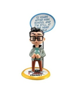 "Figurine Q-pop The Big Bang Theory ""Leonard"""