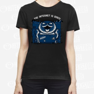 """T-Shirt """"The Internet is ours"""""""