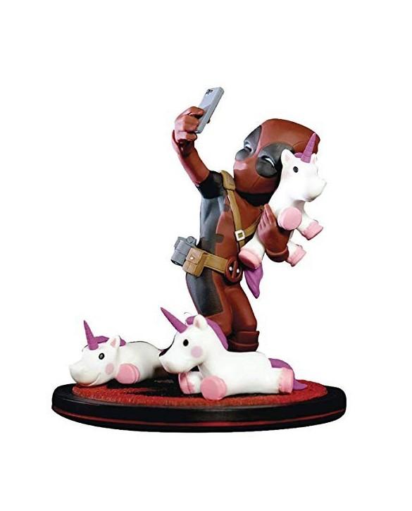 "Figurine QFig ""Deadpool licorne"""