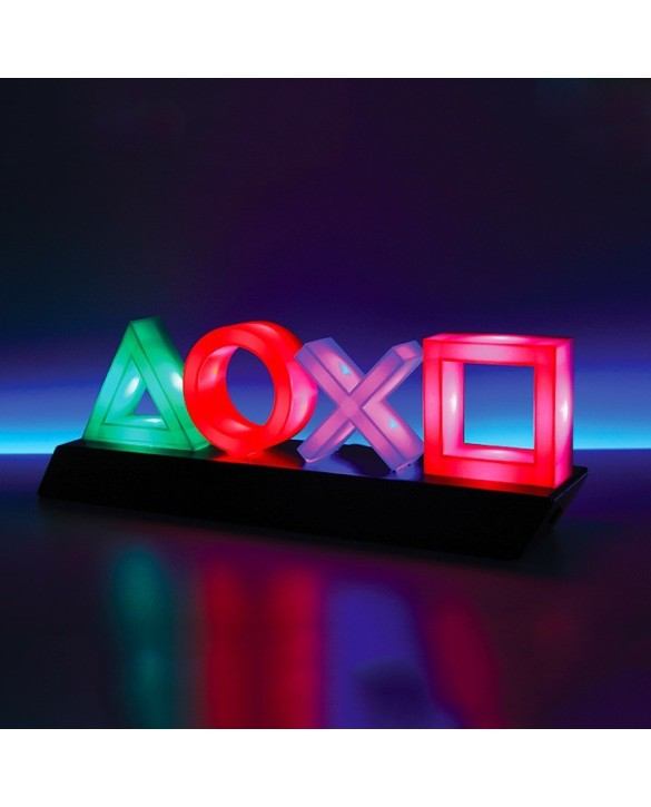 Lampe icones lumineux PlayStation