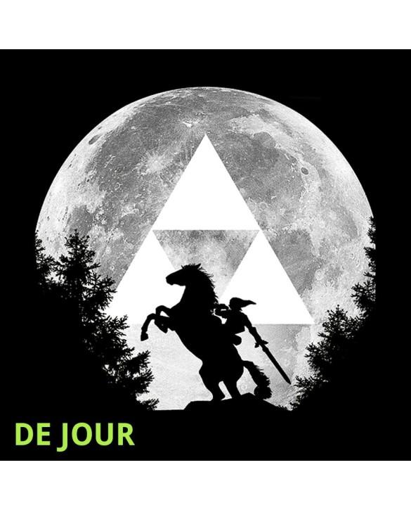 """T-Shirt """"Moon"""" (brille dans la nuit)"""