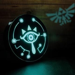 Lampe projecteur Zelda Oeil de Sheikah