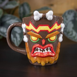 Mug Uka Uka Crash Bandicoot