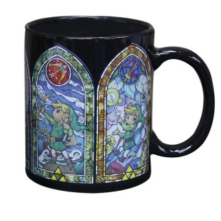 Mug thermo-réactif Zelda