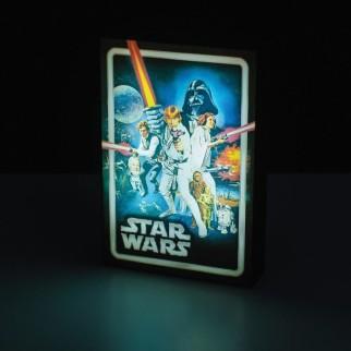 """Luminart Star Wars """"Un nouvel espoir"""""""