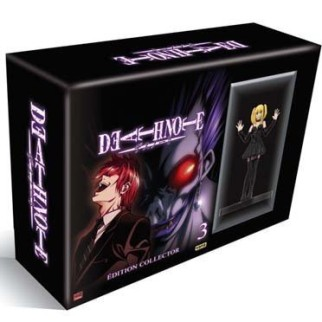 Coffret DVD Death Note + Goodies Death Note Offert d'une valeur de 12€