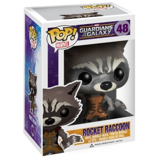 Figurine Pop Gardiens de la Galaxie - Rocket Racoon