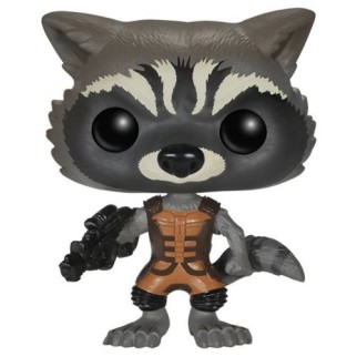 Figurine Funko Pop Rocket Raccoon - Gardiens de la Galaxie N°48