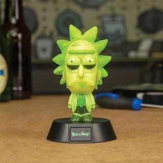 Mini lampe 3D Toxic Rick