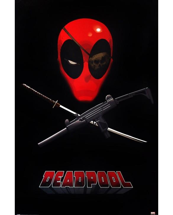 Poster Officiel Masque Deadpool XL