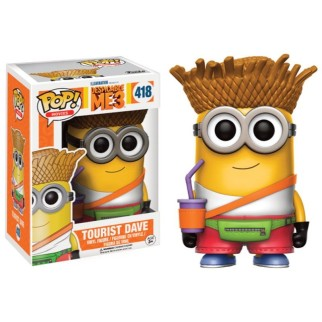 Figurine Pop Minions - Tourist Dave N°418