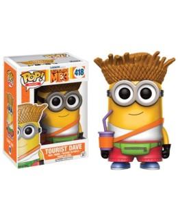 Figurine Pop Minions - Tourist Dave N°418