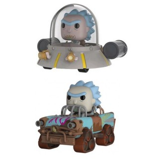 Pack 2 Pop XL - Rick Mad Max & Rick Vaisseau