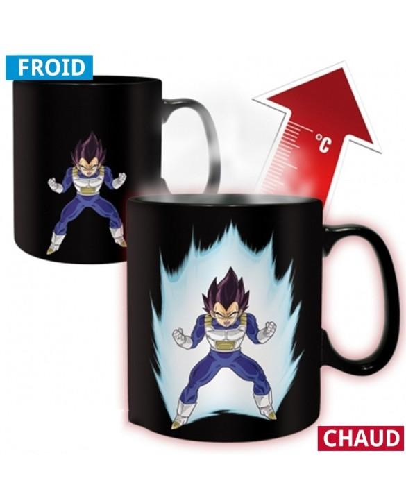 Mug Vegeta thermo-réactif (Dragon Ball Z) - chaud froid magique