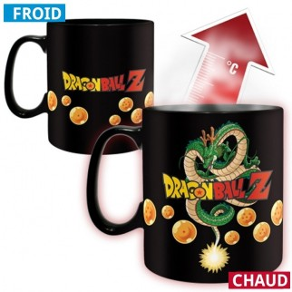 Mug Vegeta thermo-réactif (Dragon Ball Z) - chaud froid magique