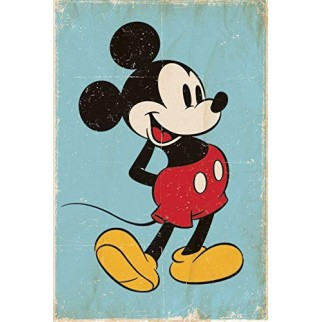 Poster Officiel Mickey Rétro XL