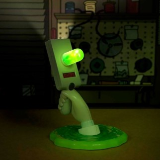 Lampe LED Rick&Morty Portal Gun 30cm