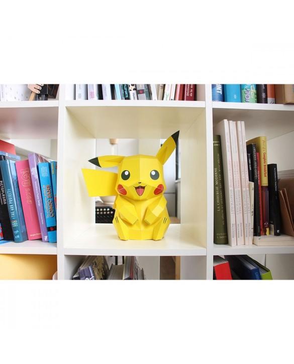 Figurine Pikachu à créer soi-même 30cm