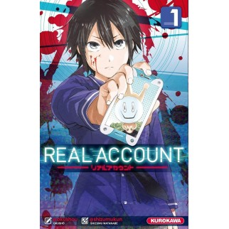 Manga Real Account Tome 01