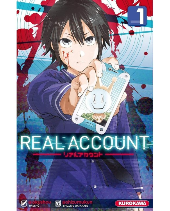 Manga Real Account Tome 01