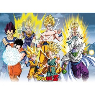 Poster Officiel XL Dragon Ball Z - All Star