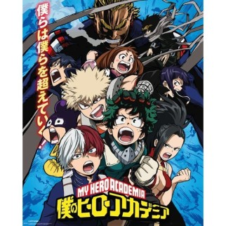 Poster Officiel XL My Hero Academia - Combat