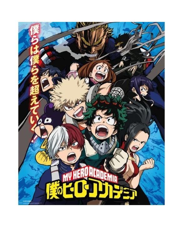Poster Officiel XL My Hero Academia - Combat