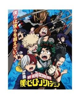 Poster Officiel XL - My Hero Academia - Combat