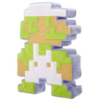 Peluche 8 bits 20cm - Luigi
