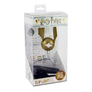 Lampe LED Harry Potter - Vif d'Or