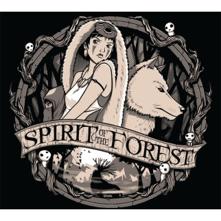 "T-Shirt ""Spirit of the forest"""