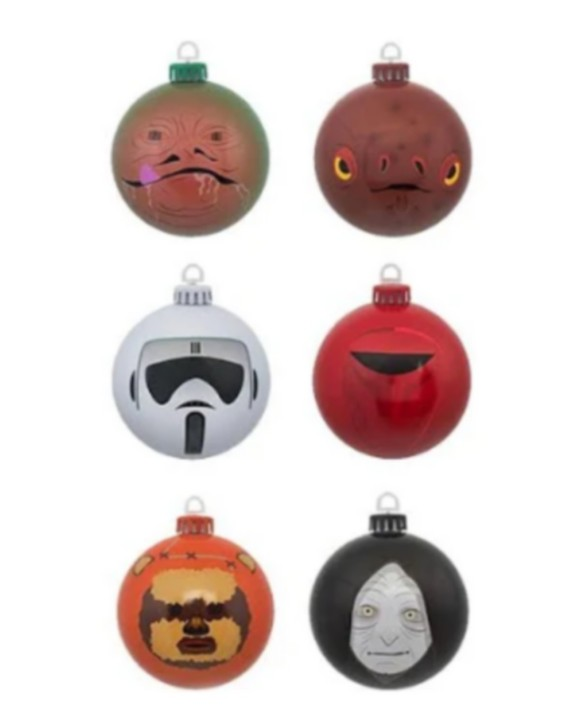 Boules de Noël Star Wars