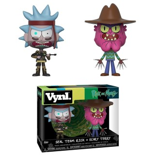 Pack 2 Vinyl Rick & Morty - Rick + Scary Terry