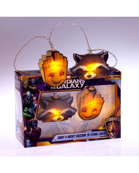 Guirlande Les Gardiens de la Galaxie - Groot & Rocket Raccoon
